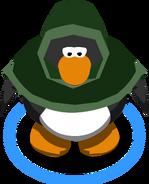 Green Hooded Cloak IG