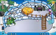 Jimy Igloo - Late August 2019 - Club Penguin Rewritten