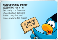 3rd Anniversary Party Advertisement 2