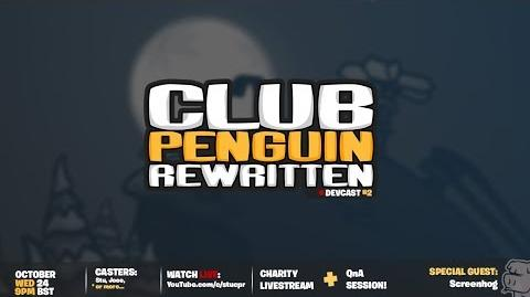 Club Penguin Rewritten Podcast 2 Charity Live-Stream Special Guest Screenhog!