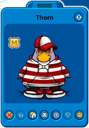 Thorn Player Card - Late July 2019 - Club Penguin Rewritten