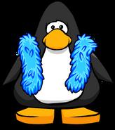 Blue Feather Boa PC