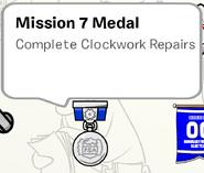 Mission 7 Medal SB