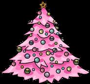 Pink Holiday Tree sprite 002