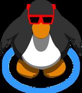Red Sunglasses IG