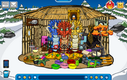 Lily8763cp Igloo - Mid November 2018 - Club Penguin Rewritten