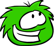 Green Puffle Old Adopt