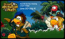 Island Adventure Party 2019 Pre Login