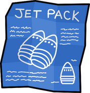 Jet Pack Blueprints