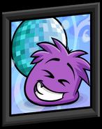 Purple Puffle Picture sprite 001