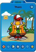 Thorn Player Card - Late February 2019 - Club Penguin Rewritten (2)