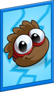 Brown Puffle Poster sprite 001