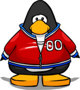 Red Track Jacket PC