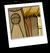 Tiki Coffee Shop Background Icon
