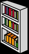White Bookcase sprite 006
