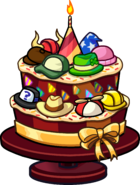 Club Penguin 14th Anniversary Party Cake
