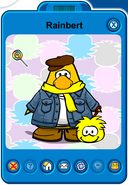 Rainbert Player Card - Mid June 2019 - Club Penguin Rewritten (2)