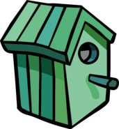 Green Birdhouse sprite 001