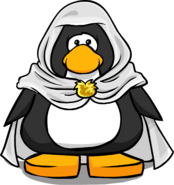 White Hooded Cloak PC