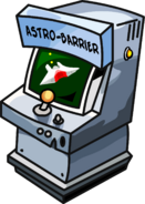 Astro Barrier game machine