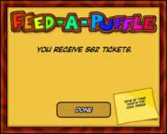 Feed-A-Puffle End Screen