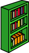 Green Bookcase sprite 010