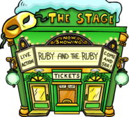 Ruby and the Ruby - Exterior - St. Patrick's Parade