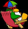 Umbrella Hat Penguin