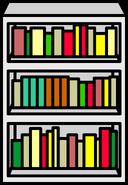 White Bookcase sprite 003