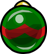 Green and Red Bauble sprite 001
