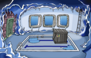 Puffle Party 2020 construction Underground Pool