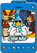 Thorn Player Card - Late January 2019 - Club Penguin Rewritten (2)