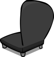 Black Plush Chair sprite 004