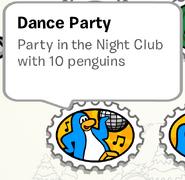 DanceParty StampBook