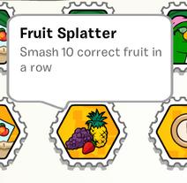 Fruit Splatter Stamp SB
