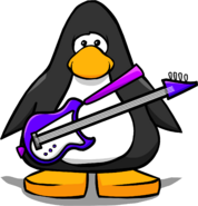 Purple Electric Bass PC
