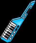 Blue Keytar
