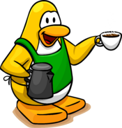 Coffe Apron Penguin