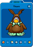 Thorn Player Card - Early April 2019 - Club Penguin Rewritten