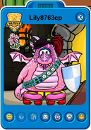 Lily8763cp Player Card - Early July 2019 - Club Penguin Rewritten