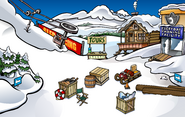 Penguin Games construction Ski Village