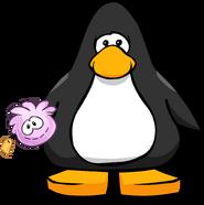 Pink Puffle Stuffie PC