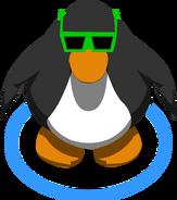 Green Sunglasses IG
