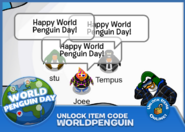World Penguin Day code
