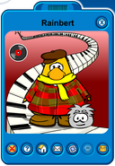 Rainbert Player Card - Mid May 2019 - Club Penguin Rewritten