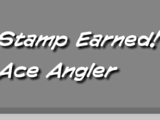Ace Angler Stamp