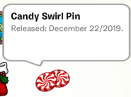 Candy Swirl Pin SB