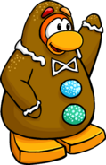 Gingerbread Costume Penguin Style Dec'17
