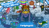 Penguin of the Week 91 - Parlydogs22 - Club Penguin Rewritten