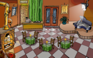 Festival of Lights Pizza Parlor